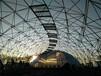 泡泡花园鸟巢温室大棚穹顶集成温室观光农业生态餐厅设计