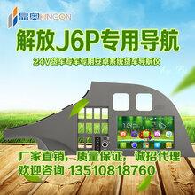中科晶奥解放J6P导航仪一体机安卓系统9寸大屏图片