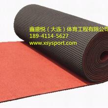 大连预制型橡胶跑道施工橡胶跑道卷材价格橡胶跑道球场厂家