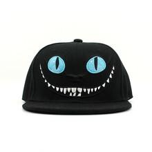 帽厂定制男女平板帽大眼卡通刺绣防晒棒球帽亲子平板活动帽