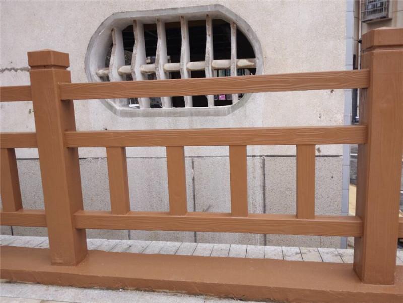 水泥仿木栏杆
