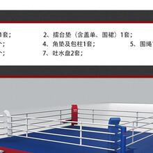 九日山拳击擂台/散打比赛擂台/泰拳场地/搏击比赛擂台MMA训练擂台图片