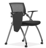 带写字板会议椅,折叠培训椅,会议椅,会议折叠椅图片