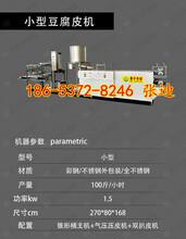 山东泰安小型豆腐皮机生产豆腐皮机厂家鑫丰豆腐皮机器