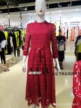 广州尾货批发高端时尚品牌女装深圳衣为丝春装折扣批发