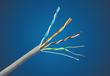 安徽合肥网线厂家供应各类国标网线纯铜过检测可出口
