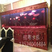 重庆有机玻璃工厂承接大型生态超白玻璃景观水族箱鱼缸工程