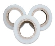 厂家直销黑色缠绕拉伸膜黑色PE塑料膜环保拉伸缠绕膜图片