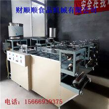 雙層全自動豆腐皮機泰安財順順廠家生產小型豆腐皮機圖片