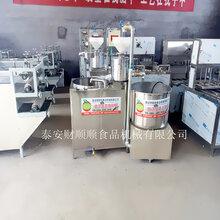青岛全自动搅渣上渣机/节省人力/财顺顺豆腐机厂家供应图片