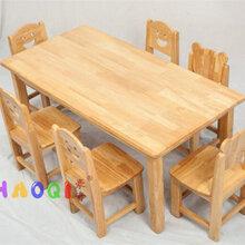 陕西西安儿童木质桌椅生产厂家图片