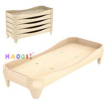 陕西咸阳市幼儿园木床价格图片