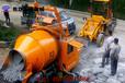 山西运城厂家直供搅拌拖泵搅拌输送一体机