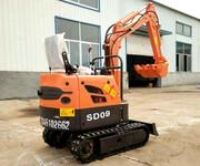 适用于北方农场的山鼎SD09小型挖掘机价格、用途图片
