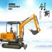 济南山鼎2.5吨小钩机的价格图片