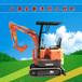 甘肃厂家直销的小型挖掘机品牌山鼎微型挖掘机