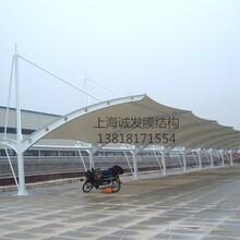 车站膜结构棚、停车场膜结构棚、商场膜结构棚图片