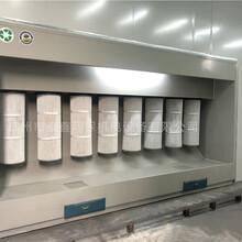 工業噴粉房靜電塑粉回收房干式噴涂房脈沖粉末回收機環保噴塑圖片