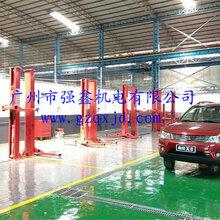 标准二柱举升机汽车维修双柱式液压举升机3.5T两柱升降机维修设备图片