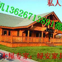 山頂別墅木屋農家樂小木屋、、湖南株洲修建現代木屋別墅圖片
