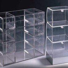上海金山亭林展示有机玻璃盒子、亚克力板材批发加工