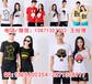 毕季团队T恤衫集体T恤订制荆州衣服上随心印相片图案文字