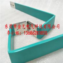 环氧树脂涂层铜排电池芯连接铜排导电铜排来图生产图片