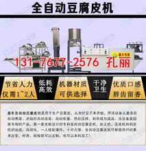 河南平顶山豆腐皮机小型家庭用豆腐皮机豆腐皮机的价钱