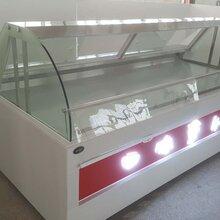 深圳厂家来图定制卤味柜鸭脖柜熟食柜冷藏保鲜展示柜图片