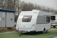 德国进口科诺斯牌小型旅居挂车400QD