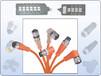 接近开关连接线,传感器连接器,3线M8连接线,4针M12连接线