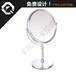 东莞台式化妆镜厂家供应双面金属美容镜360度旋转台镜