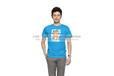 定制款男式T恤运动圆领短袖文化衫宣传服高清数码印花T