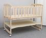 全新实木婴儿床儿童床原木无漆没有味道可变摇床变书桌