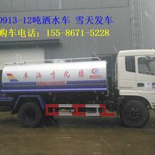阜新市供应东风新款12吨洒水车国五现车销售图片