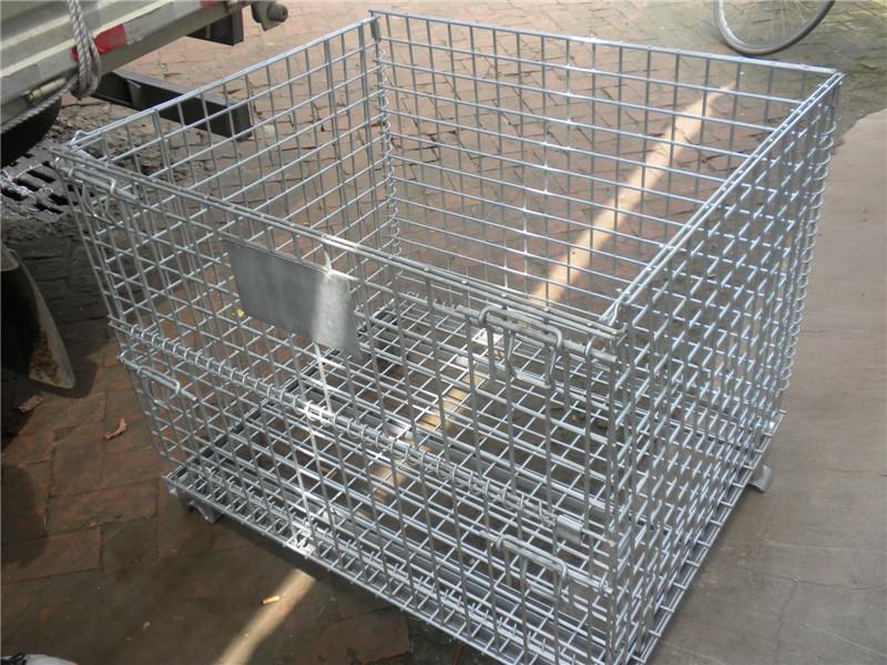 供应周转箱金属物流箱(可堆叠周转箱)