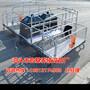 广西养猪设备多少钱一套猪用分娩栏尺寸齐全母猪产床规格齐全宏基图片