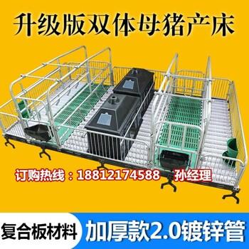 陕西养猪设备批发母猪产仔栏价格猪产床厂家直销