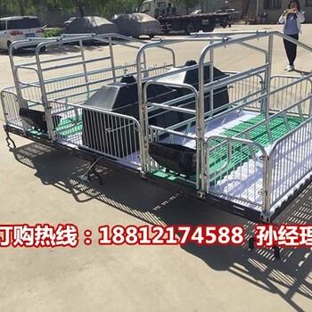 湖北养猪设备专业生产厂家母猪分娩栏尺寸合理猪产床规格齐全