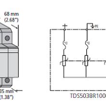 防雷接地浪涌保护器TDS50图片