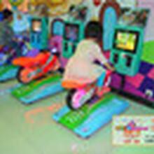厂家热销3D摩托车儿童益智游戏摇摆机神童小摩托摇摇车