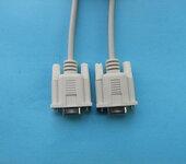 串口线232线2排9针对9孔DB9公对母