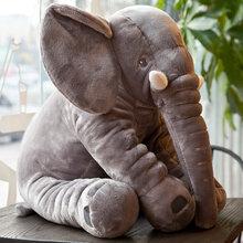 大象毛绒玩具公仔定制可以当抱枕陪宝宝睡觉深圳厂家定制