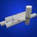 20寸的熔噴濾芯是多長咨詢pp熔噴濾芯批發商
