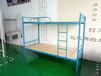 吉安学生床蓝色方管架子床永固B010