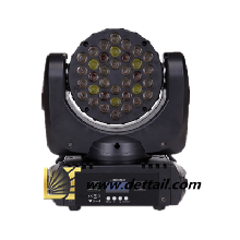 荻特DT-MH36舞台摇头灯36颗大功率LED不带调焦摇头灯36颗3瓦LED舞台染色摇头灯图片