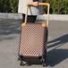 冰冰同款秋冬新款LV同款皮箱拉杆箱女万向轮20寸22棋盘格登机行李箱
