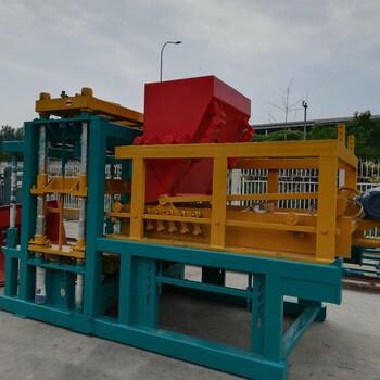 建丰砖机直销云南路面花纹制砖机大理液压动空心砖砖机