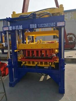 安徽全自动空心砖机合肥彩色路面制砖机就来建丰