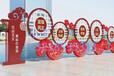 扬州宣传栏标牌厂家